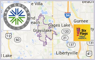 lake county service area