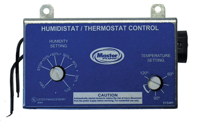 Humidistat & Thermostat Combo