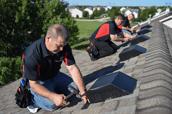 Roof Vents Installation 2