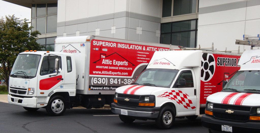 attic expert truck fleet picture